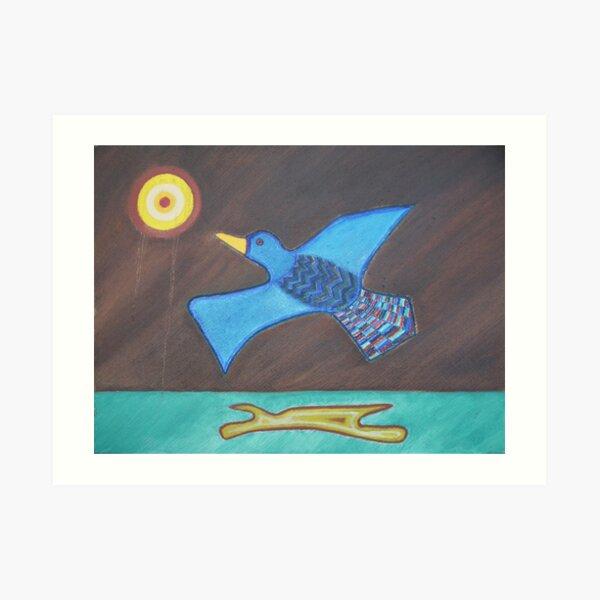 Duck! Art Print
