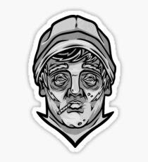 Guy Sculpture Sticker