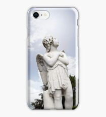 angel statue in a kilkenny graveyard iPhone Case/Skin