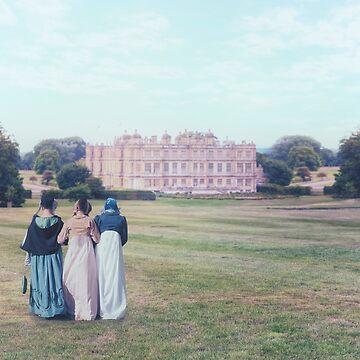 Jane Austen by JoanaKruse