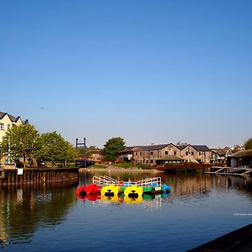Colours at Exeter Quay by Sita