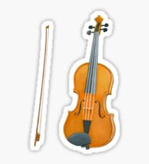 Amazing watercolor violin Sticker