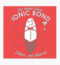 ionic bond Photographic Print