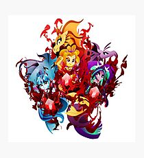 The Dazzlings Photographic Print