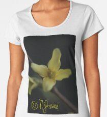Witaj Wiosno 2018 <3 Warm welcome spring <3 Hola hola primavera <3 Al lo davao spring + Shalom <3 Daj Boh nie posledniaja wiesna ;) Women's Premium T-Shirt