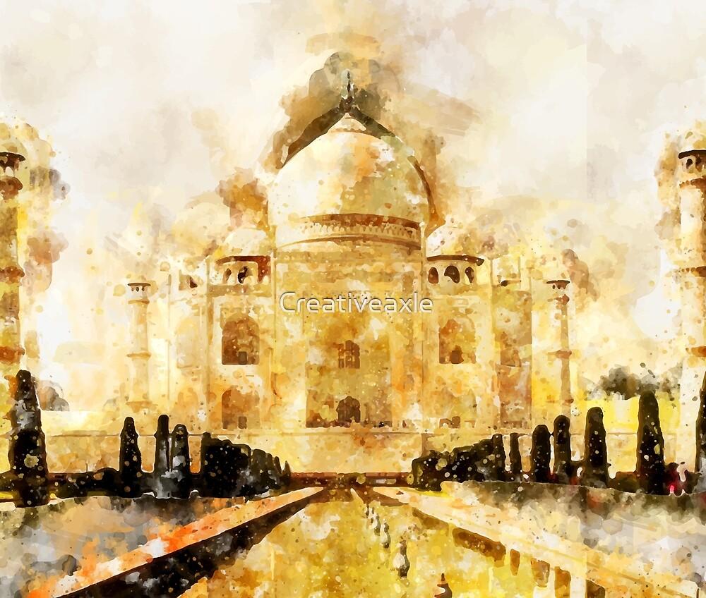 Taj Mahal Painting\