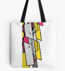 Geometric pattern Psychedelic Tote Bag