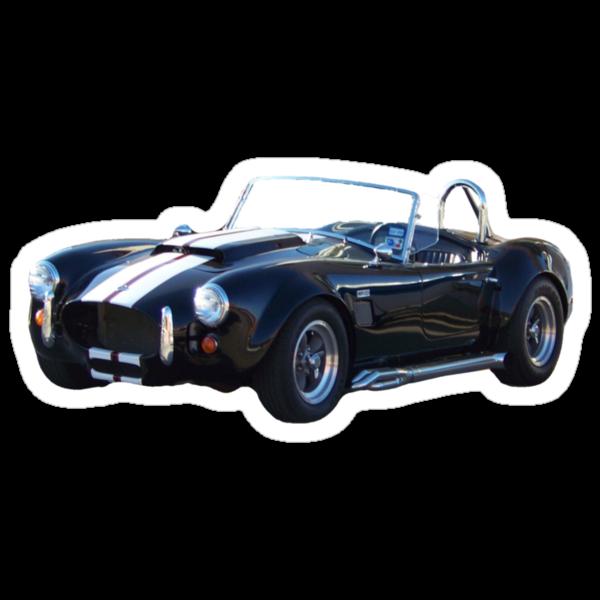 1965 Shelby Cobra Tee by Glenna Walker
