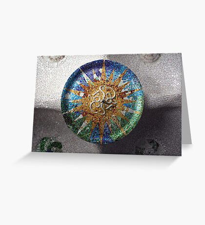 Parc Guell Greeting Card