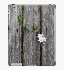 fence with flower iPad Case/Skin