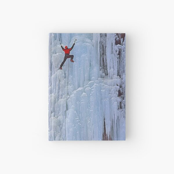 Ice climbing in Russia, Chegem, Tracery, weave, drawing, figure, picture, illustration, structure, framework Hardcover Journal