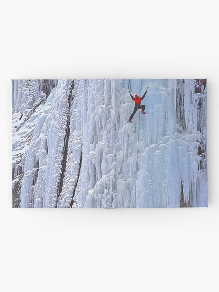 Alternate view of Ice climbing in Russia, Chegem, Tracery, weave, drawing, figure, picture, illustration, structure, framework Hardcover Journal