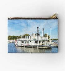 Houseboat/ Mississippi River Studio Pouch