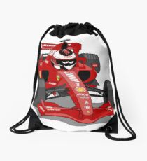 Cartoon Car Drawstring Bag