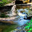 Buttermilk falls I HDR by PJS15204