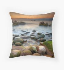 Porth Nanven Throw Pillow