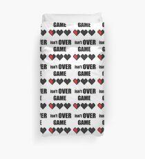 game over ? Duvet Cover