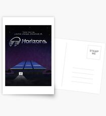 Horizons from EPCOT Center (with Text) Postcards