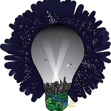 Light pollution by ivrona