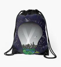 Light pollution Drawstring Bag