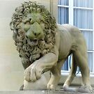 Lion Statue in Front of Schloss Monrepos, Ludwigsburg - Germany by Bine