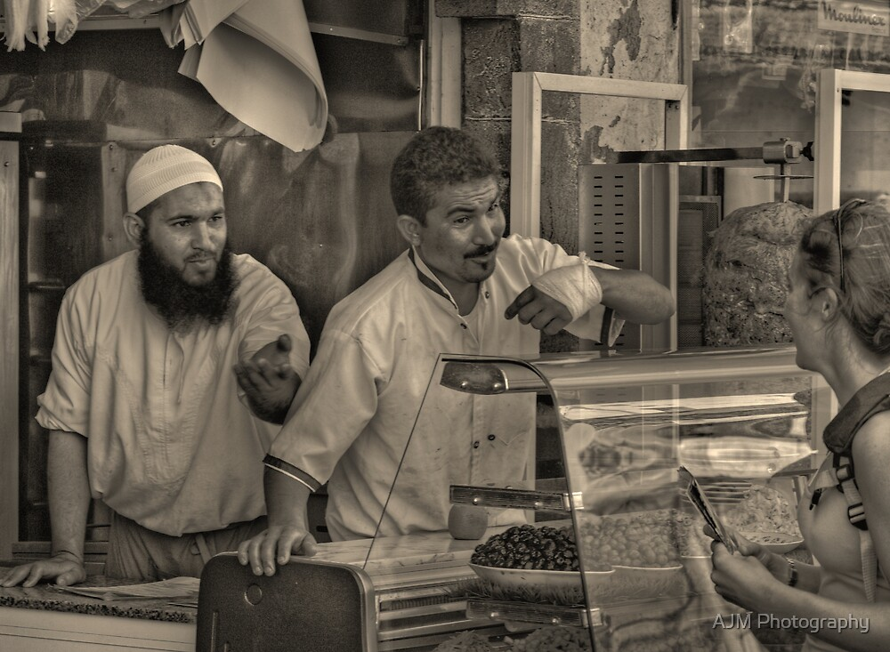 The fine art of selling kebabs by AJM Photography