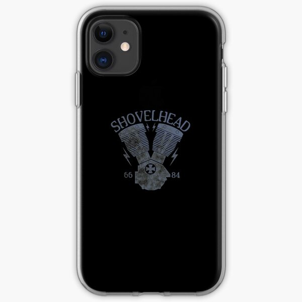 Shovelhead Motorcycle Engine iPhone Soft Case