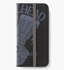 Shovelhead Motorcycle Engine iPhone Flip-Case/Hülle/Klebefolie