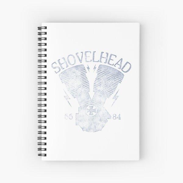 Shovelhead Motorcycle Engine Spiral Notebook