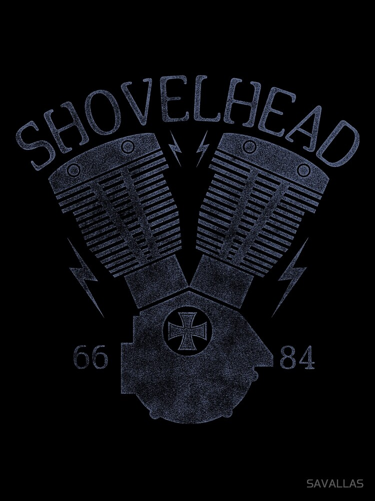 Shovelhead Motorcycle Engine von SAVALLAS
