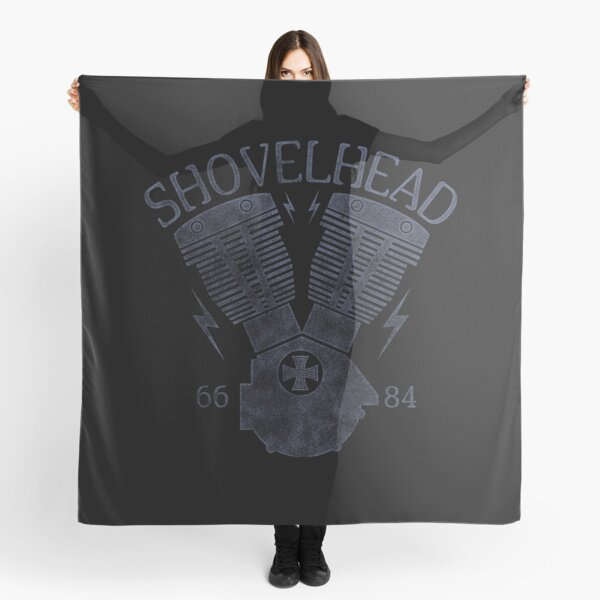 Shovelhead Motorcycle Engine Scarf