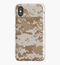 Camo, USMC Digital Desert iPhone Case