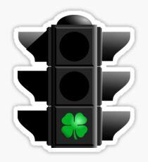 greenlight, go IRISH! Sticker