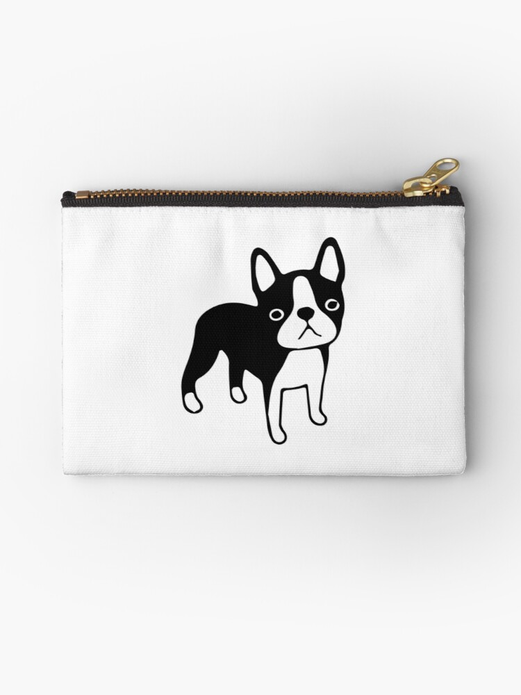 ae6f819c4f67 'Frenchie french Bulldog Puppy' Zipper Pouch by PineLemon