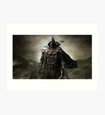 Elder Scrolls Art Print