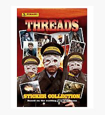 Threads Sticker Album cover Photographic Print