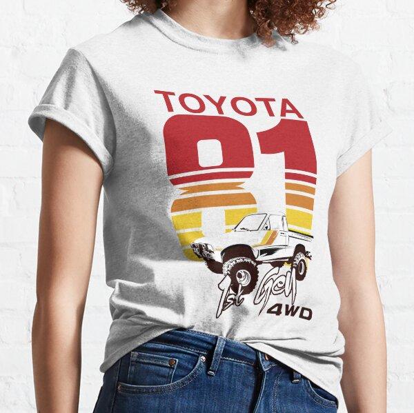 1st gen Toyota Truck 4WD 1981 Classic T-Shirt