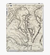 Vintage Map of The Chesapeake Bay (1780) iPad Case/Skin
