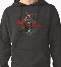 No Truce with the Hunters Pullover Hoodie