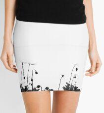 Poppies at Lake Geneva.....Morges Mini Skirt
