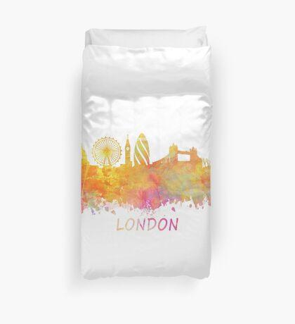 London Skyline pastel Duvet Cover