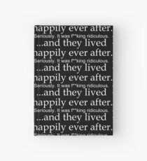 Happily Ever After- Bachelor and Bachelorette Party Hardcover Journal