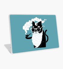 Whiskers And Pipe Laptop Skin
