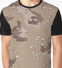 Camo, US Chocolate Desert Graphic T-Shirt