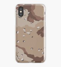 Camo, US Chocolate Desert iPhone Case