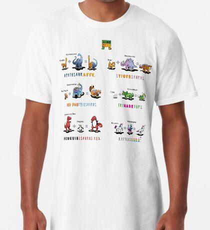 Dinomals Cheat Sheet! Long T-Shirt