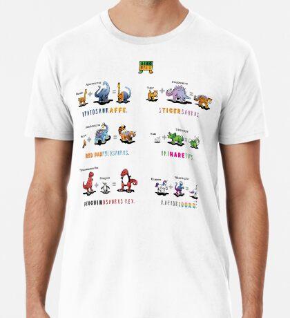 Dinomals Cheat Sheet! Premium T-Shirt