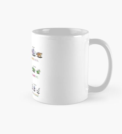 Dinomals Cheat Sheet! Mug