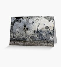 the fading city Greeting Card