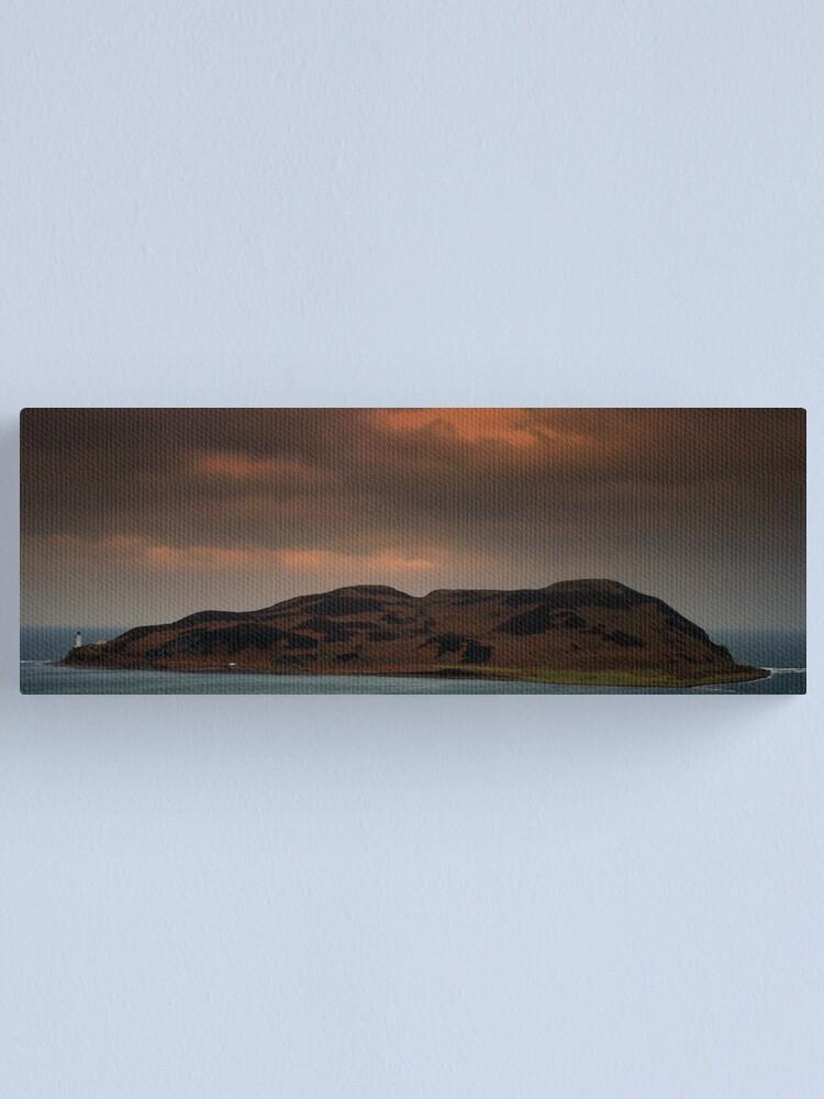 Alternate view of Island  Davaar Canvas Print
